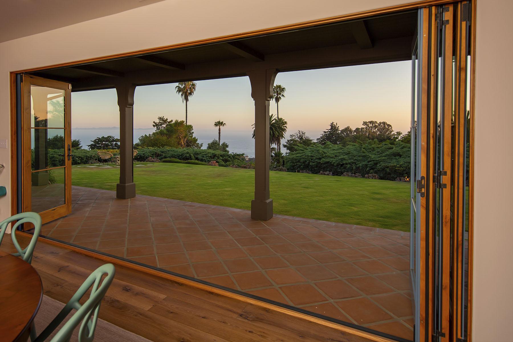 Campanil exterior doors