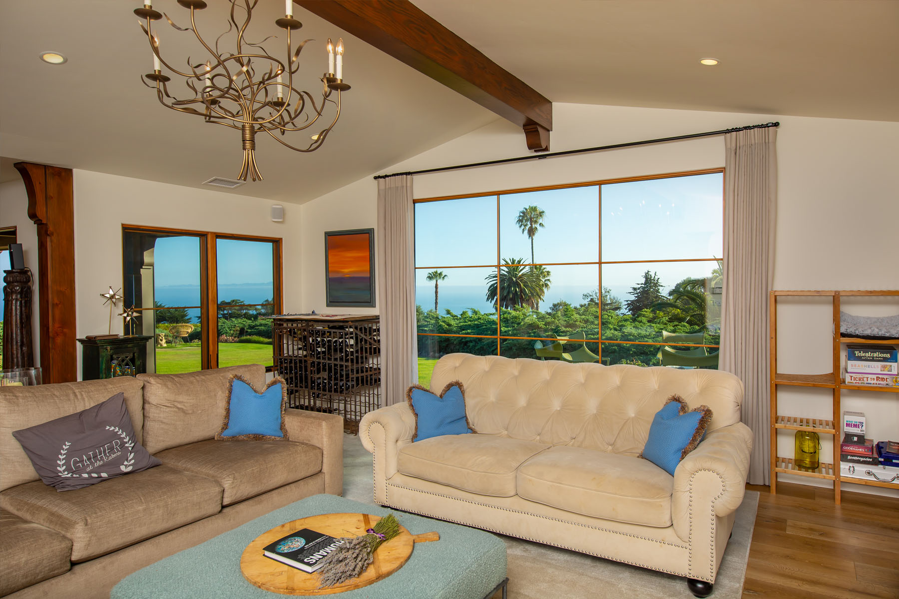 Campanil living room