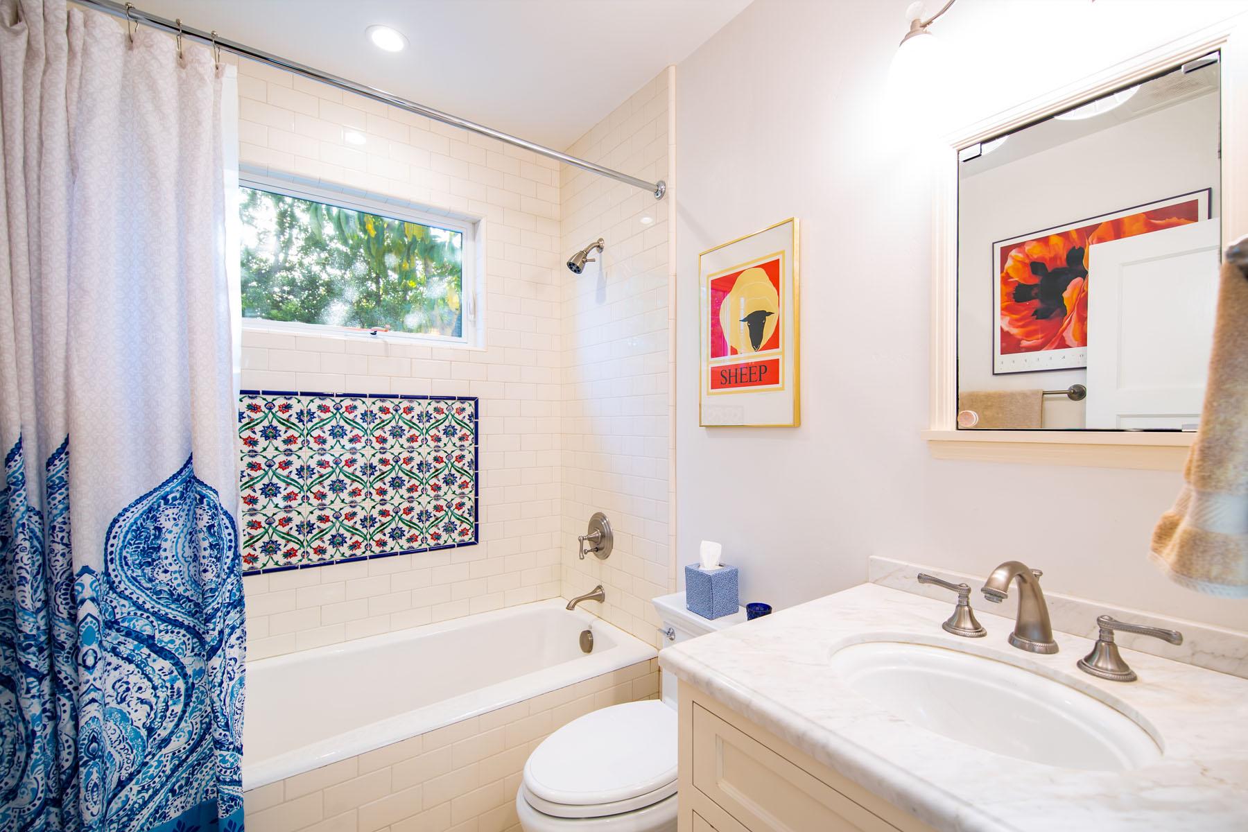 Cedar home bathroom