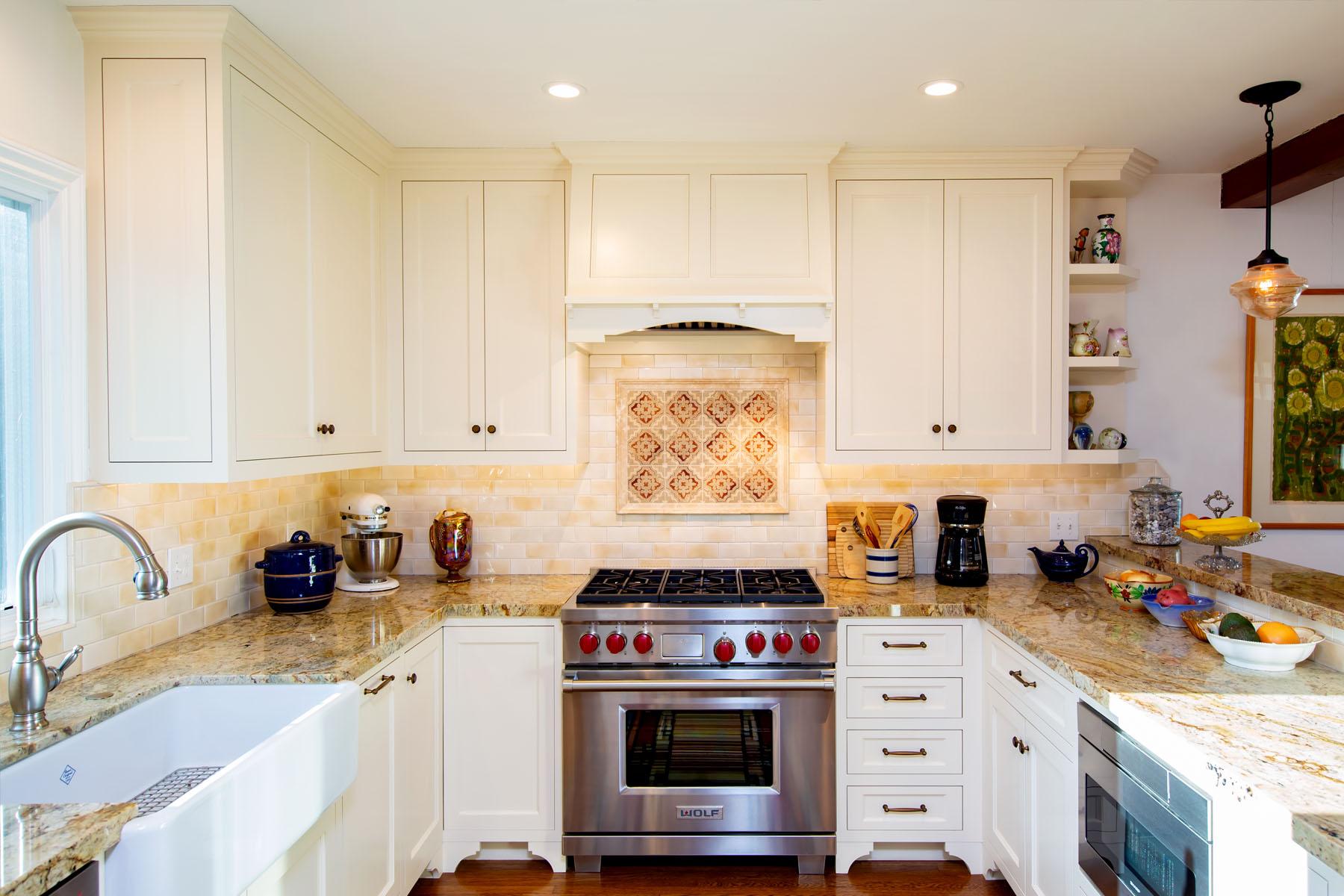 Cedar home kitchen