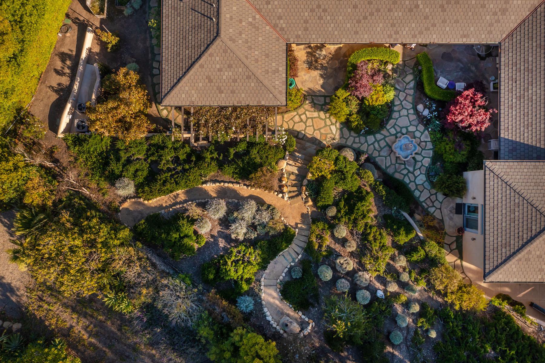 El Rancho aerial view
