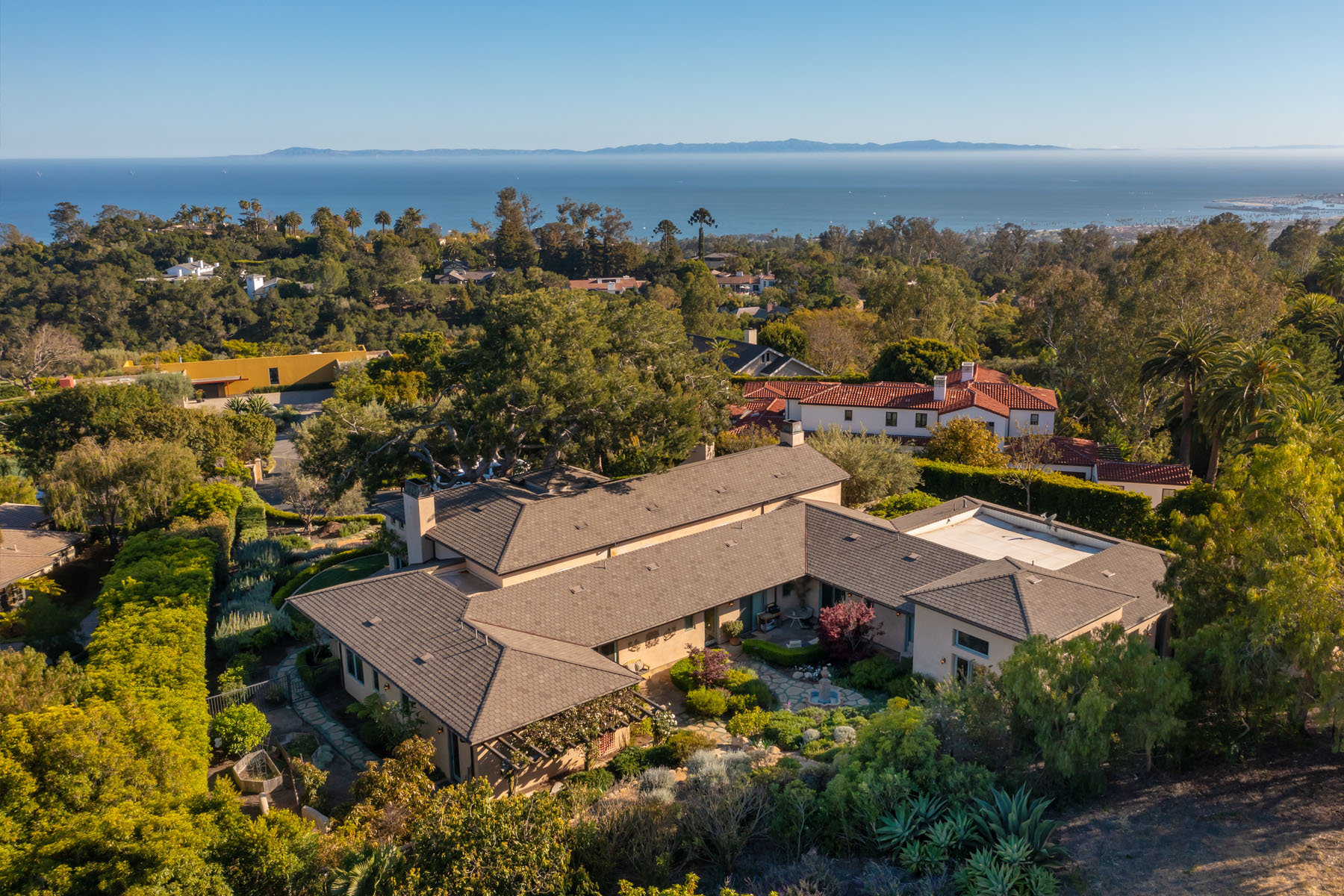 El Rancho aerial