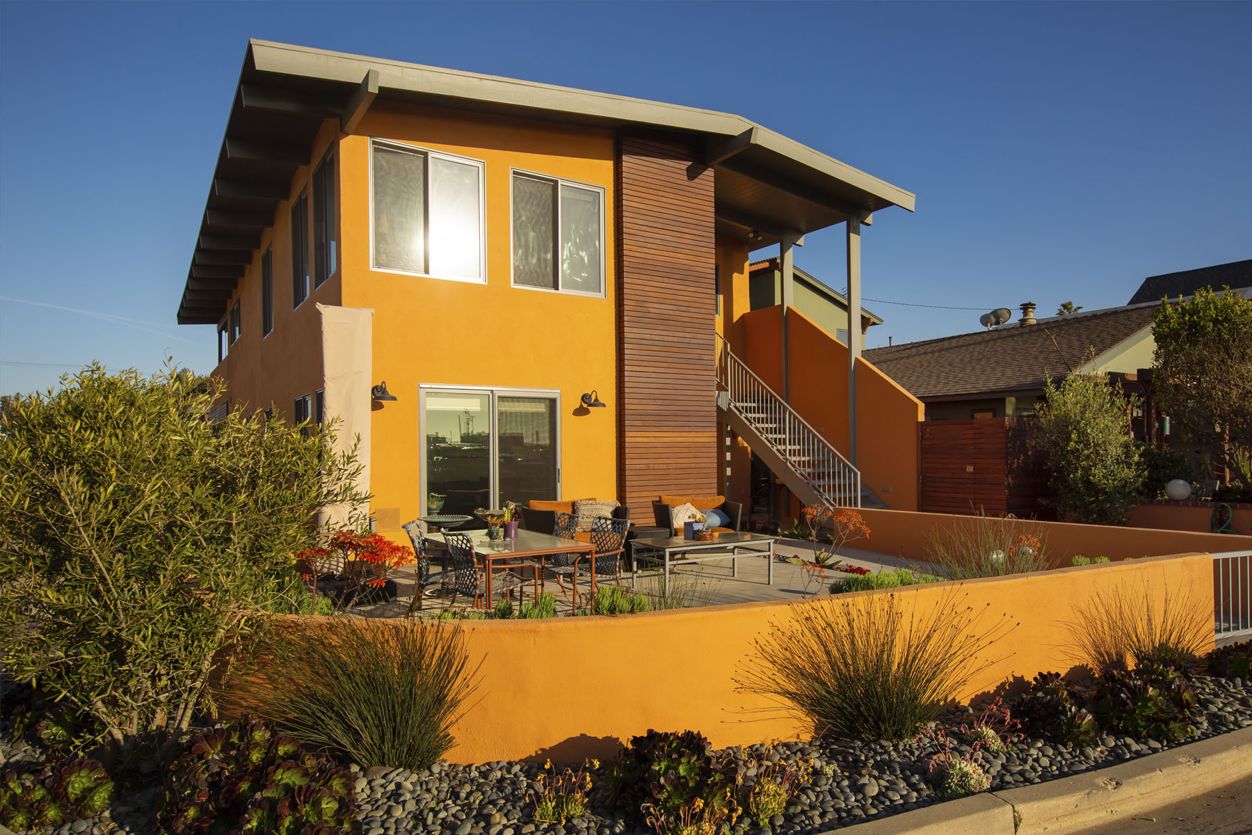 Lakeshore Residence home exterior; Silver Strand, CA