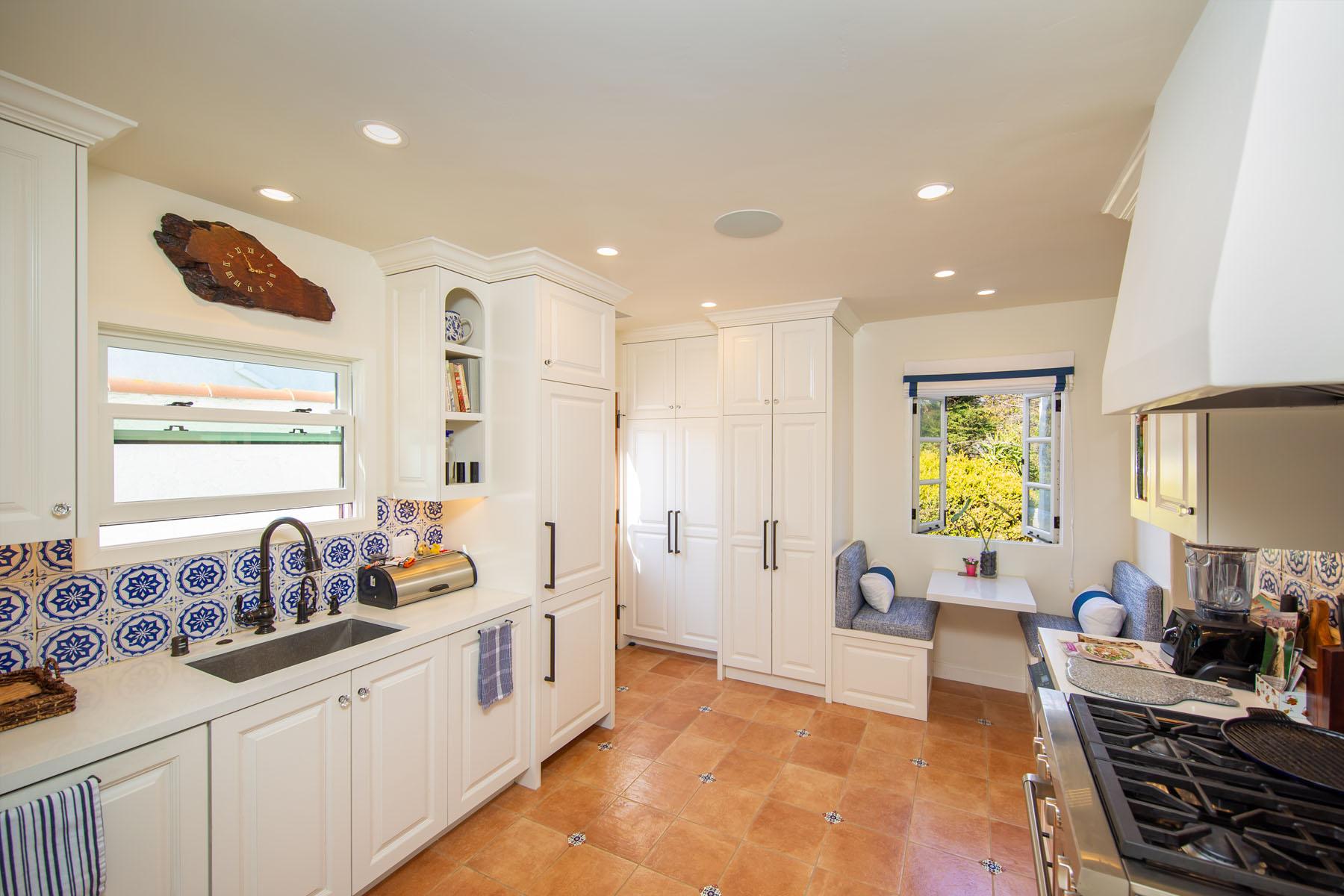 Vista del Mar kitchen; Ventura, CA